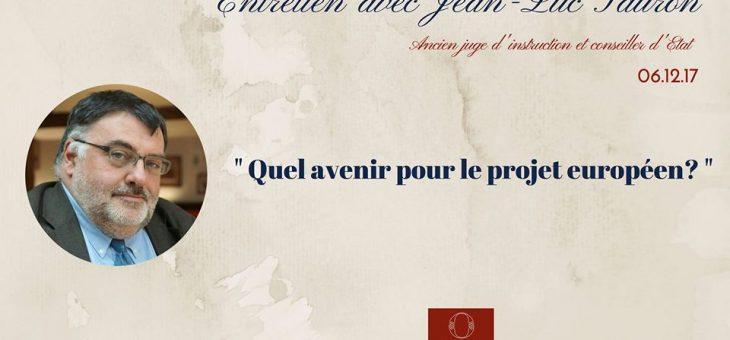 La Conférence Olivaint reçoit Jean-Luc Sauron – Conseiller d'Etat – le 06/12/17 à 19h45