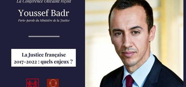 Rencontre avec Youssef Badr, porte-parole du ministère de la Justice – le 19/02/2018 à 19h15