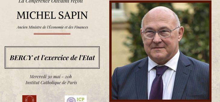 La Conférence Olivaint reçoit Michel SAPIN – le 30/05/2018 à 20h