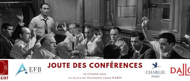 La Joute des Conférences 2019 – le 22/02/2019 à 19h
