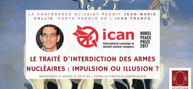 L'interdiction des armes nucléaires : impulsion ou illusion ? – le 06/03/2019 à 19h30 au Cercle France-Amériques