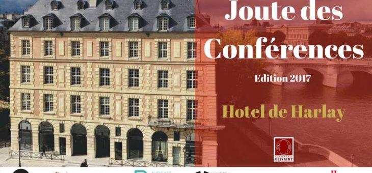Joute des Conférences – Edition 2017 – Mardi 30 mai à 19h