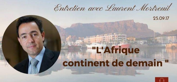 Laurent Mortreuil reçu par La Conférence Olivaint – 25/09/2017