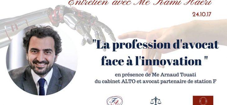 La Conférence Olivaint reçoit Maîtres Kami Haeri et Arnaud Touati – le 24/10/2017 à 19h45