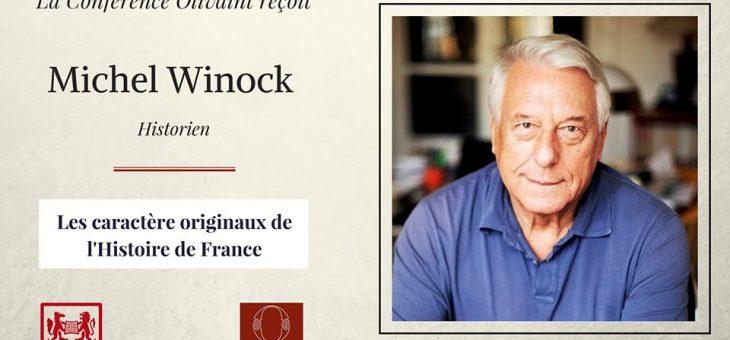La Conférence Olivaint reçoit Michel Winock, historien – le 15/03/2018 à 19h15