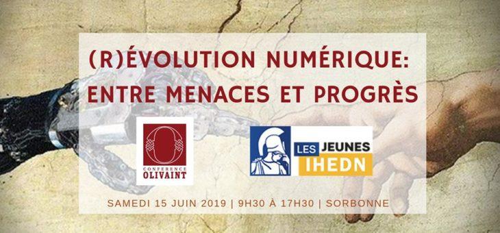 (R)évolution Numérique : entre menace et progrès – Colloque le samedi 15 Juin en Sorbonne